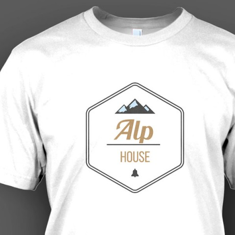 T-Shirt Alp House